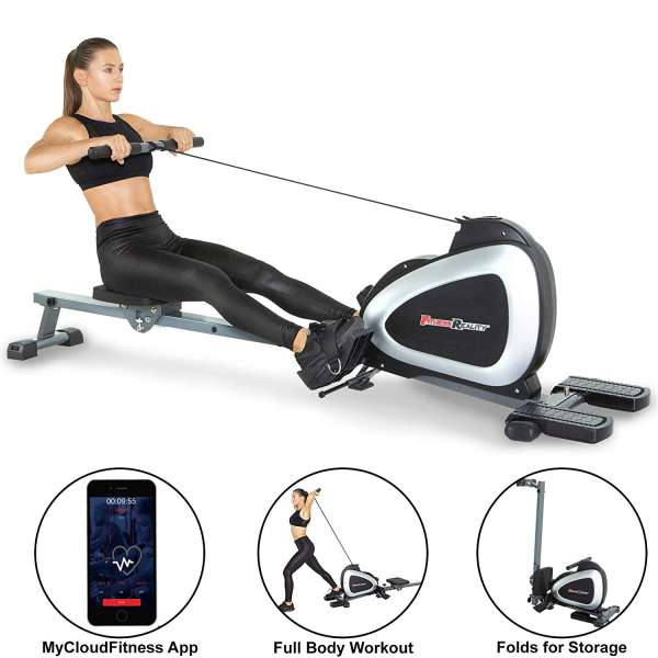 Fitness Reality 1000 Plus Bluetooth Magnetic Rower Machine