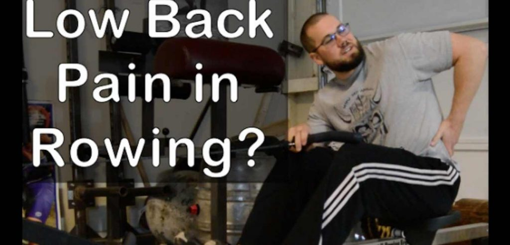 How To Avoid Lower Back Pain When Rowing