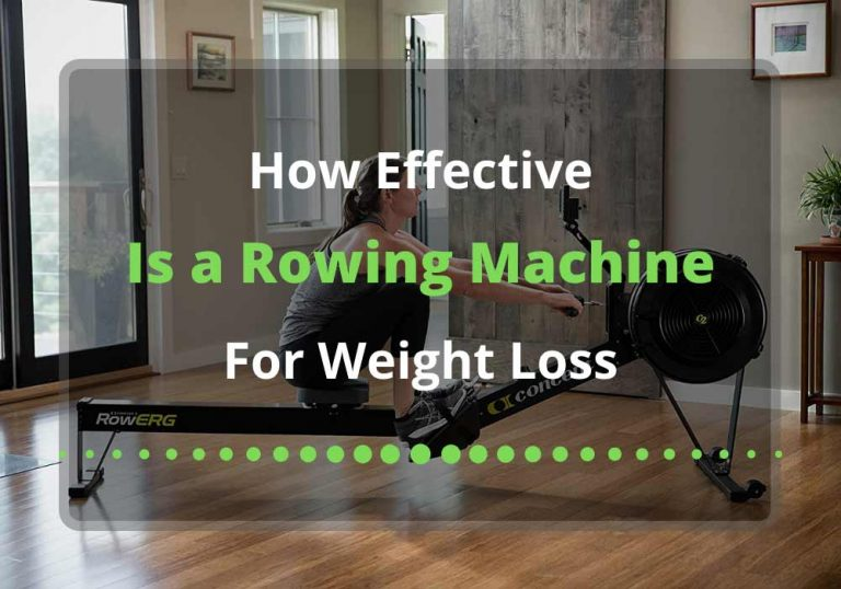 how effective is a rowing machine for weight loss