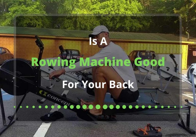 is rowing machine good for your back